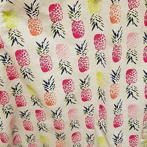 STYLUS Tops - Women's Large Pineapple button down top